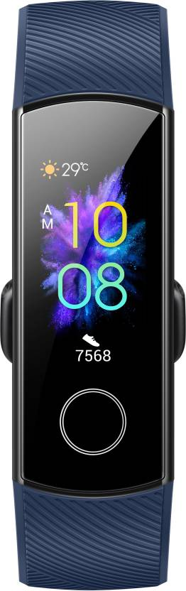 Honor Band 5 screen and design